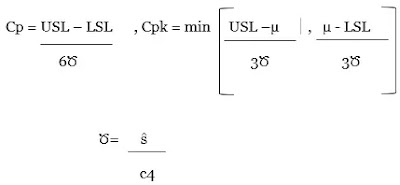 Process Performance, Pp, Ppk, Process Capability Index, Cp, Cpk