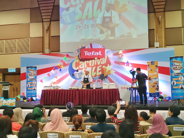 Pacific West Cook Show Bersama Celebrity Chef dan Tefal
