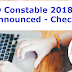 SSC GD Constable 2018 PET / PST Date Out - Check Official Notice