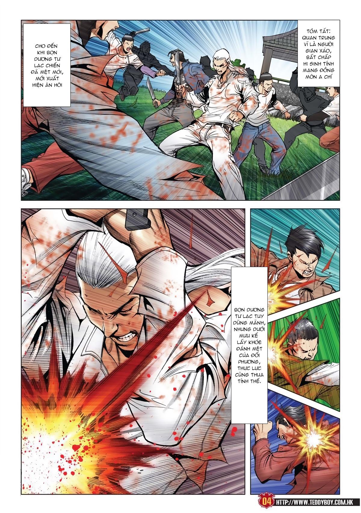 Người Trong Giang Hồ chapter 1986: chạy trang 2