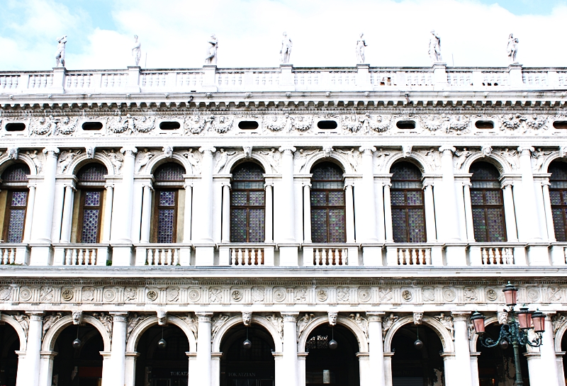 The National Library Marciana Biblioteca Marciana in Venice.