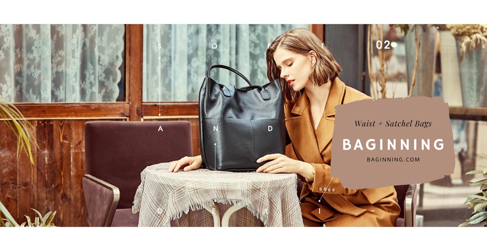 Baginning | Waist + Satchel Bags