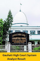 Gauhati High Court System Analyst Result
