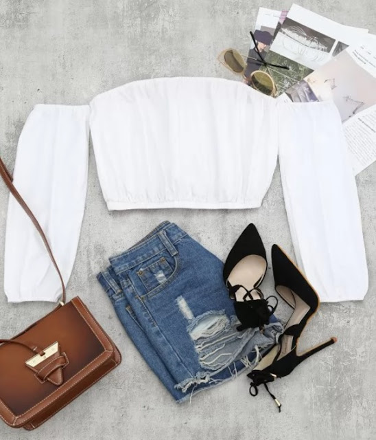 Enter to win a piece of clothing of your choice from Zaful for you and your bestie! Back to school with style. #zafulwomenswear #zafulclothing, #backtoschool2018 #wintwoclothing #whiteoffshouldertop #wishlist #summerpicks #cheapclothing #fashionrecommendations
