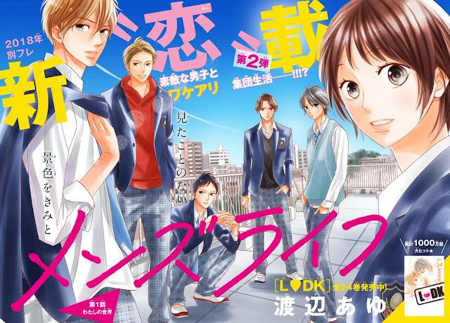 Men's Life, de Ayu Watanabe, estreia na Betsufure