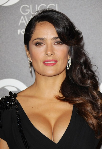 Salma Hayek Workout an... P90x Chest