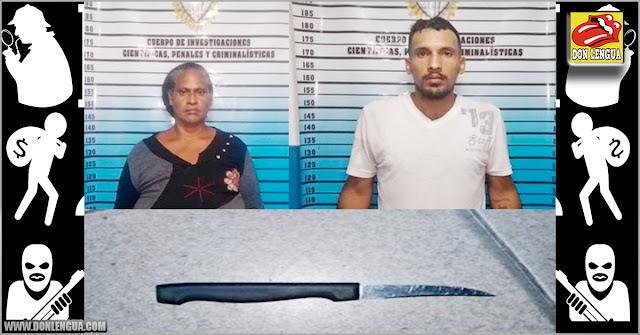 Pareja robaba con cuchillo de cocina en el Metro de Caracas