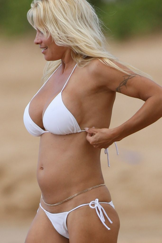 white bikini blow job