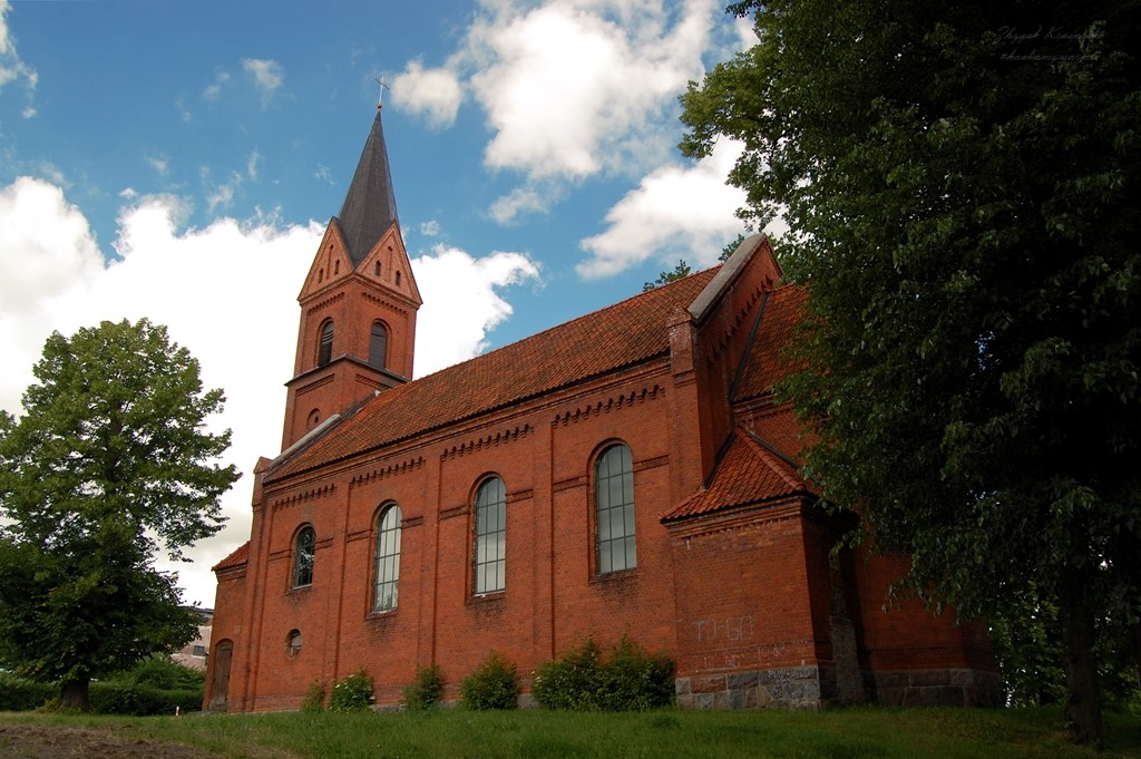 Bisztynek, kościół ewangelicki