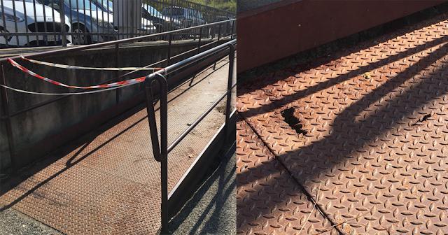 Da un anno stazione Montebello interdetta ai disabili con handicap motorio