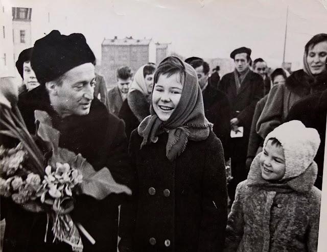 1963 год. Известный итальянский детский писатель и журналист Джанни Родари в Риге