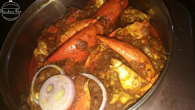 crab masala recipe