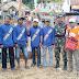 Babinsa Bandaran Lumajang Dampingi Kegiatan Selamatan Desa