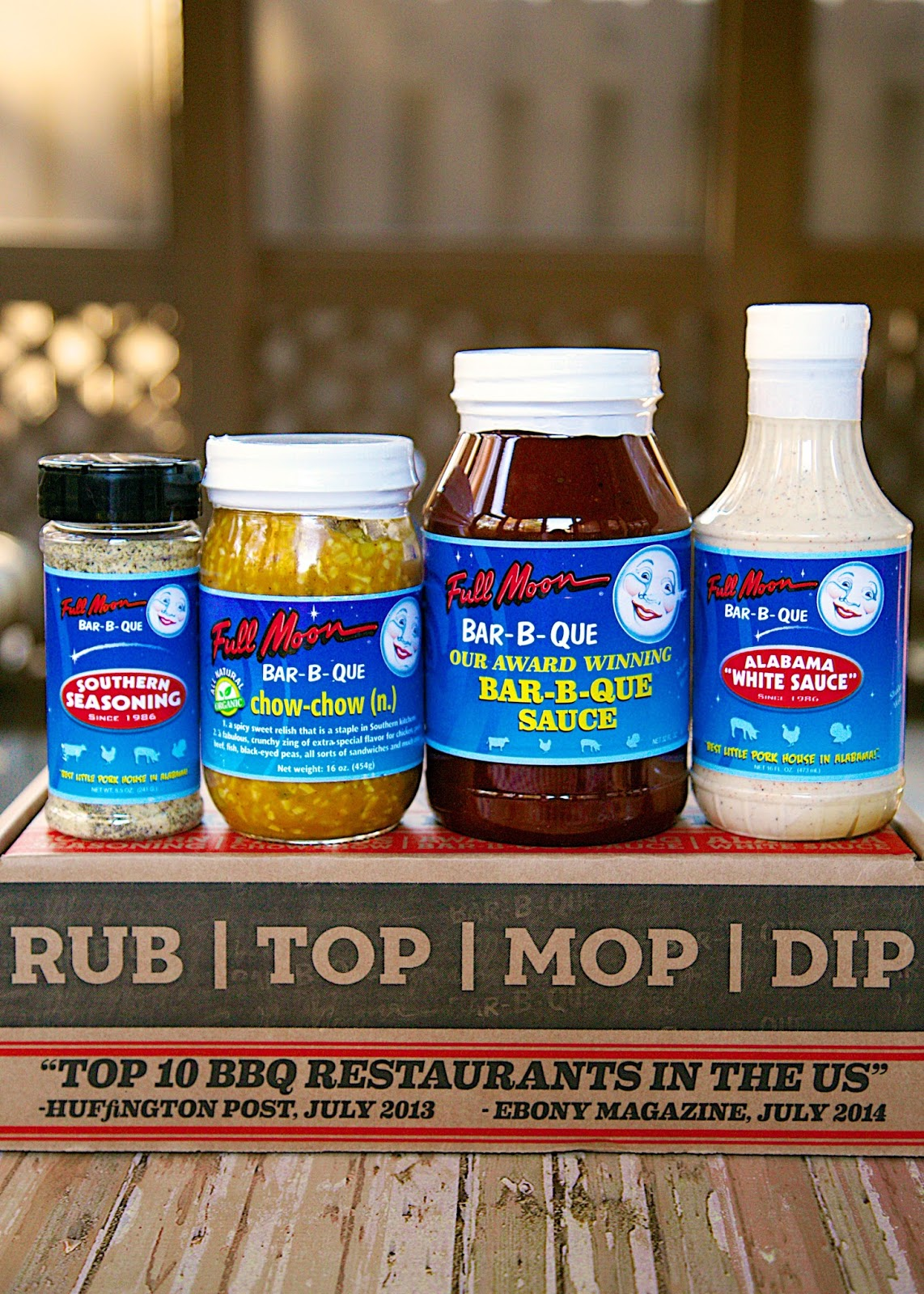 Ultimate BBQ Box - Full Moon BBQ - Try one of the Top 10 BBQ joints at home!