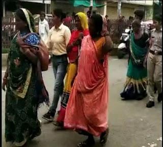 Guna कुंभराज में बच्चा चोर गैंग की चार महिलाएं गिरफ्तार