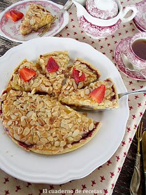 Tarta Bakewell {Apta para Diabéticos}
