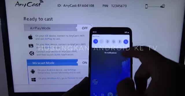 hubungkan Android Ke Telivisi