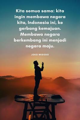 kata bijak tentang indonesia dari jokowi hebat