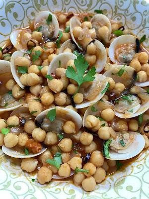 GARBANZOS CON ALMEJAS. GUISO Fácil, Delicioso y Ligero