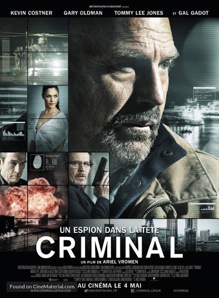 Poster of Criminal 2016 720p Hindi HC HDRip Dual Audio Full Movie Download