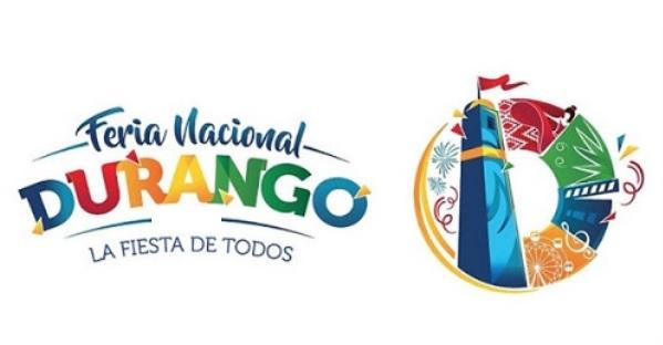 Feria Nacional Durango en Texto Azul