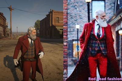 red dead fashion