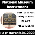 National Museum Recruitment 2020 | 08 IT Post