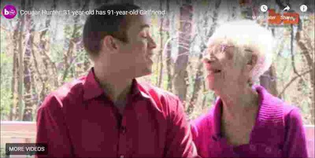 شاب يتزوج سيدة عمرها 90 سنة