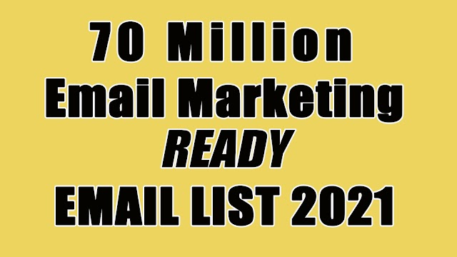 Free Email List 2021 - Biggest Free Email Collection
