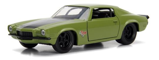 coleccion rapido y furioso, coleccion rapido y furioso jada tyos, coleccion rapido y furioso 1/32, 1973 Chevy Camaro
