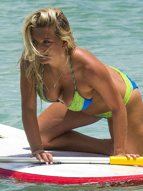 Zara Holland – Bikini Candids in Barbados