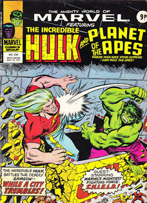 Marvel UK, Mighty World of Marvel #234, Hulk vs Doc Samson