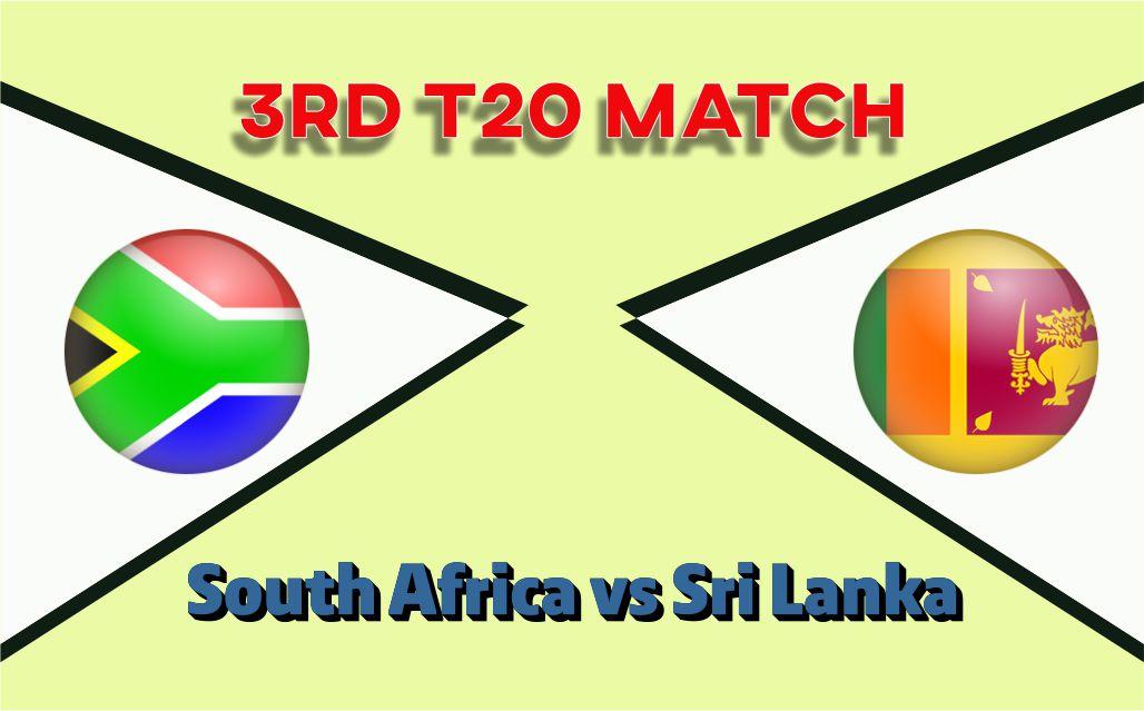SL vs SA 3rd T20 Match 100% Sure Today Match Prediction Tips