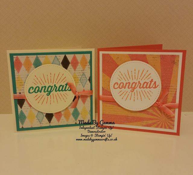 Stampin'Up! Made by Gemma Crafts