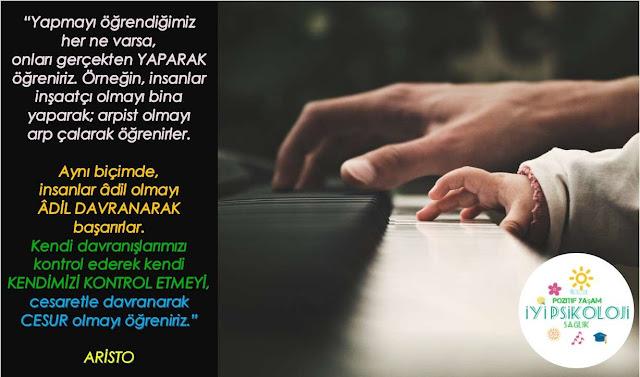 piyano, çocuk,aristo, resimlisözler, rehberlikpanosu