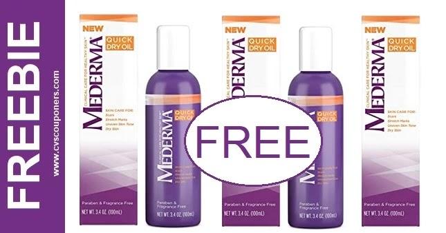 FREE Mederma Product CVS Deals