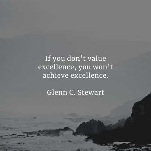 Excellence quotes that'll help you accomplish your goal