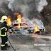 Tragedija: Vozač izgorio u vozilu koje se zapalilo na putu Banja Luka – Prijedor