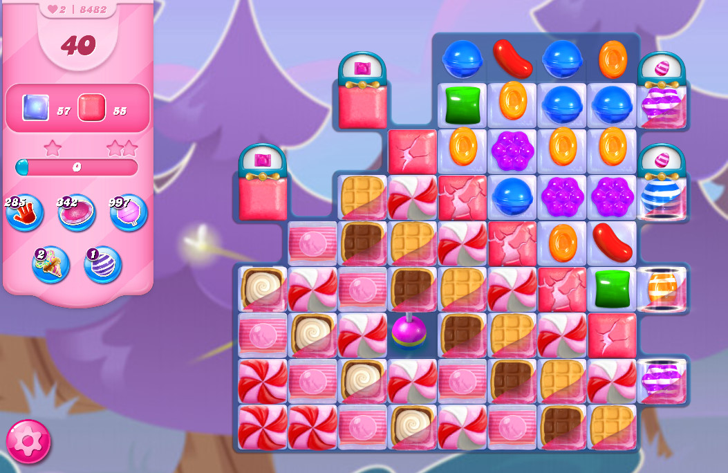 Candy Crush Saga level 8482