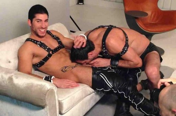 porn men Gay leather