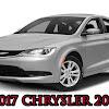 2017 Chrysler 200's Reviews : New Car Test Drive