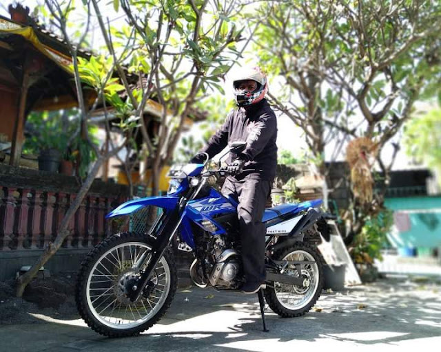 Test Ride WR155R On Road