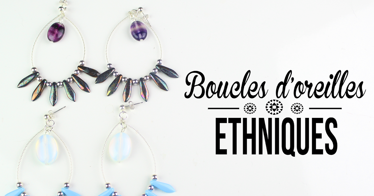 diy tuto boucles d 39 oreilles ethniques diy do it yourself by isnata. Black Bedroom Furniture Sets. Home Design Ideas