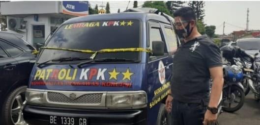 Mobil Hasil Curian Yang Berlabel KPK, Diamankan Satreskrim Polresta Bandar Lampung