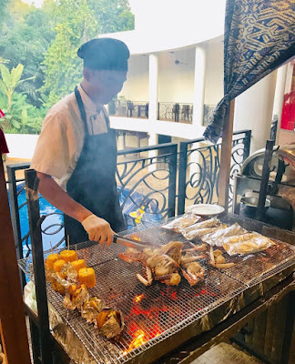 Weekend Barbecue Dinner Buffet at Tangerin, The Palace Hotel Kota Kinabalu