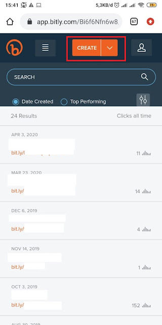 Cara Membuat Link WA di Bitly 6