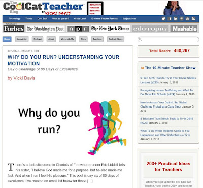 Home Page of Cool Cat Teacher Blog