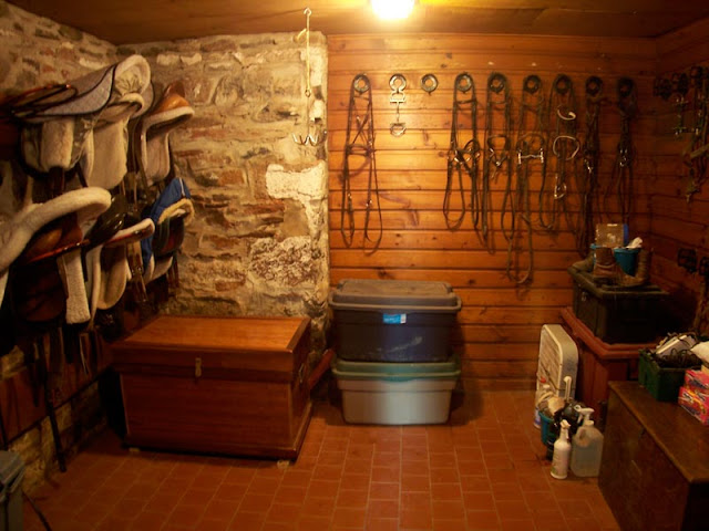 western tack room ideas