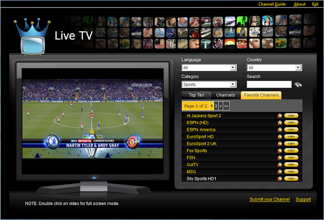 Live Streaming All Sports All Over The World Watch