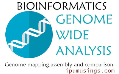 GENOME WIDE ANALYSIS: Genome Mapping, Assembly and Comparison (#bioinformatics)(#biochemistry)(#biotechnology)(#ipumusings)